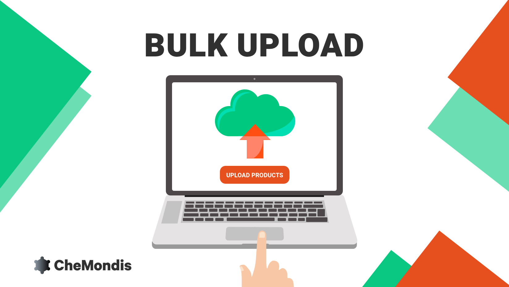 Bulk Upload on CheMondis explained