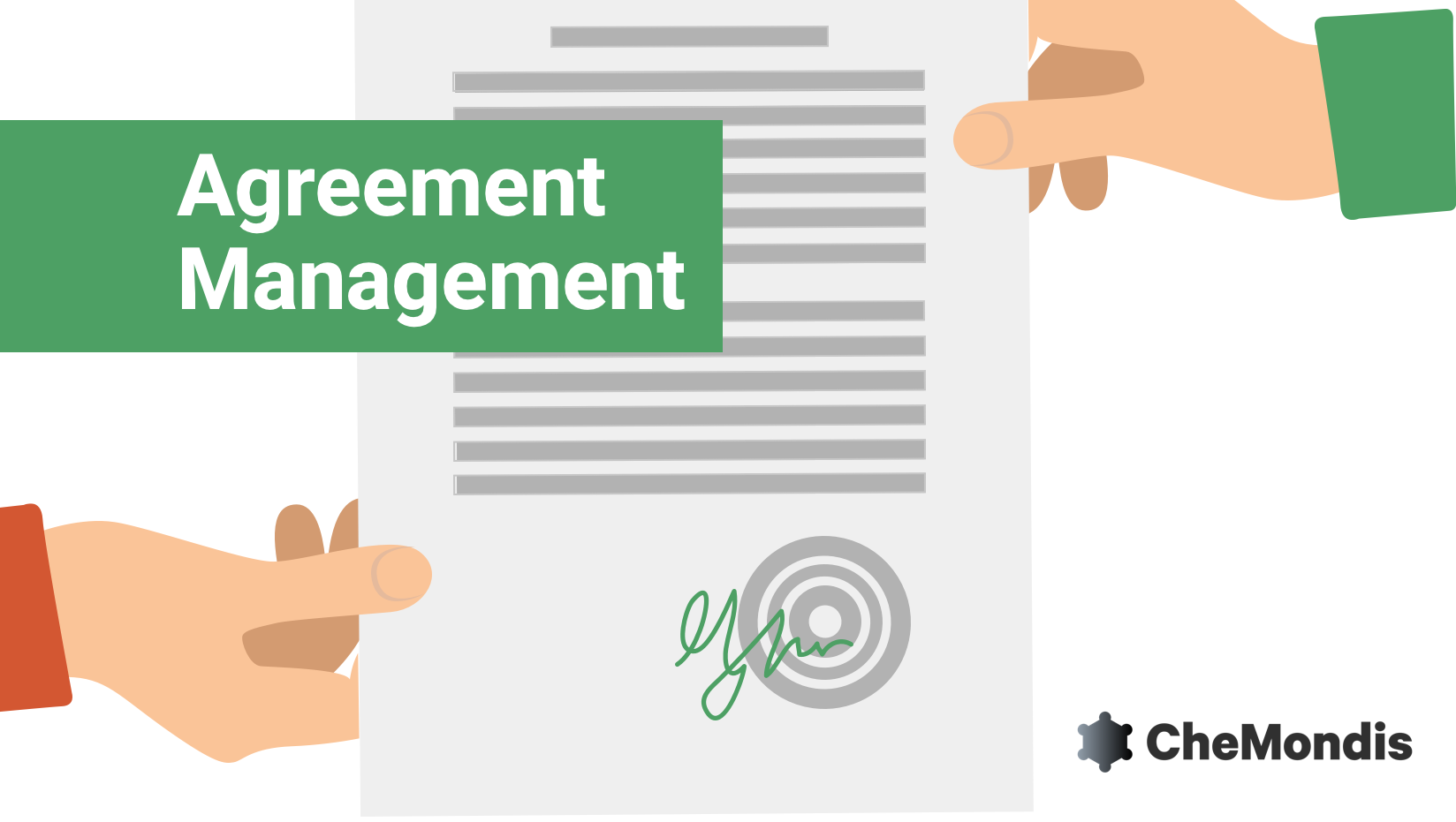 New on CheMondis: Agreement Management
