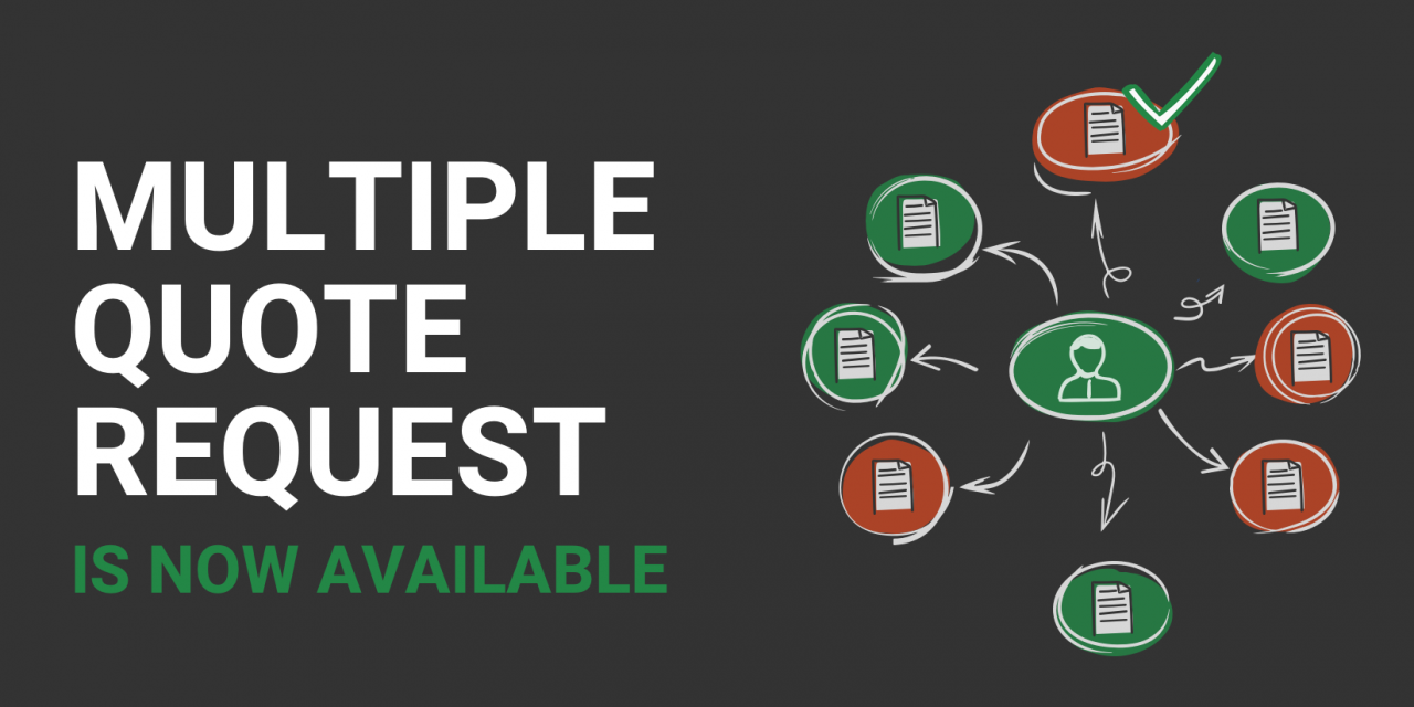 Feature Alert: Multiple Quote Requests Now Available
